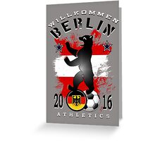 berlin athletics Greeting Card