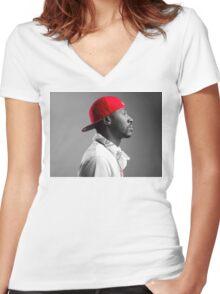 bankroll fresh  Women's Fitted V-Neck T-Shirt