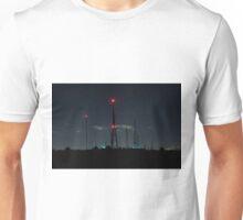 Mountain with high antennas Unisex T-Shirt