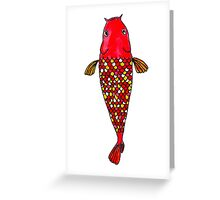 Lucky Fish Greeting Card