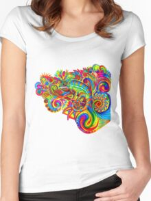 Psychedelizard Women's Fitted Scoop T-Shirt
