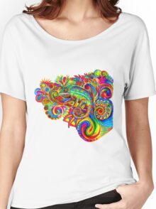 Psychedelizard Women's Relaxed Fit T-Shirt