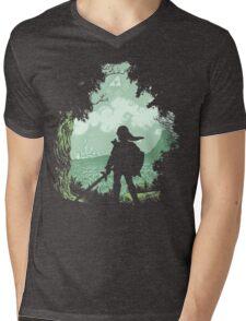 Adventure Begins Mens V-Neck T-Shirt