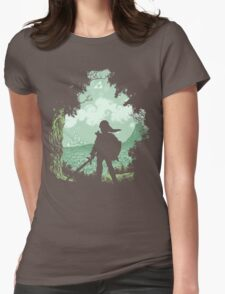 Adventure Begins Womens Fitted T-Shirt