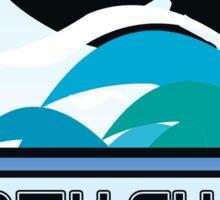Surfing North Shore Hawaii Oahu Surf Surfboard Waves Sticker