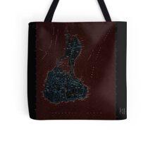 USGS TOPO Map Rhode Island RI Block Island 353245 1957 24000 Inverted Tote Bag