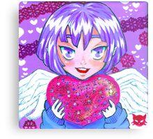 Cupid Holly Metal Print