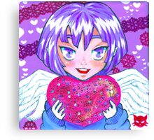 Cupid Holly Canvas Print