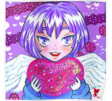 Cupid Holly Poster