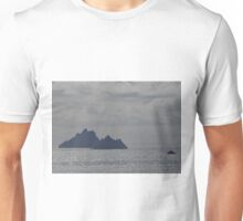 Islands on a silver sea Unisex T-Shirt