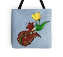 Garden Squirrel Tote Bag