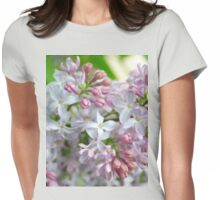 EARLY LILAC Womens Fitted T-Shirt