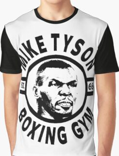 Mike Tyson Boxing Gym Graphic T-Shirt