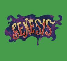 70s Genesis logo One Piece - Short Sleeve