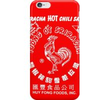 Sriracha Graphic iPhone Case/Skin
