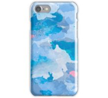 Baby Sky Marbled Design iPhone Case/Skin