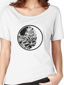 Tiger Tattoo - Black Women's Relaxed Fit T-Shirt