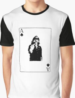 Lemmy playing card Graphic T-Shirt