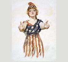 Americana, America, Columbia, American Recruitment, USA, World War 1 Unisex T-Shirt