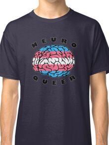 Neuroqueer Brain - Trans Colors Classic T-Shirt