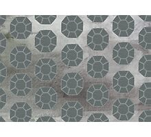Pewter City (Pattern) Photographic Print