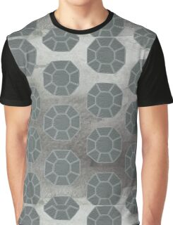 Pewter City (Pattern) Graphic T-Shirt