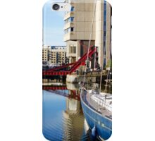 St Katherine's Dock at Dawn iPhone Case/Skin