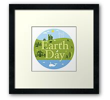 EARTH DAY Framed Print