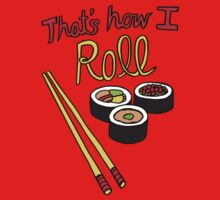 That's How I Roll Kids Tee