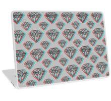 3D Diamonds Laptop Skin