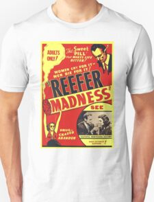 Reefer Madness Weed Poster T-Shirt