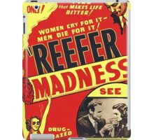 Reefer Madness Weed Poster iPad Case/Skin