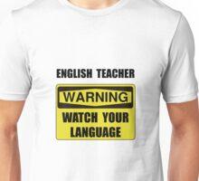 English Teacher Unisex T-Shirt