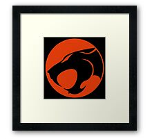 Thundercats RED & BLACK Framed Print