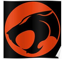 Thundercats RED & BLACK Poster