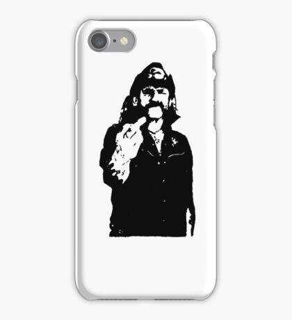 Lemmy playing card iPhone Case/Skin
