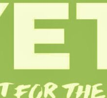 Green Yeti Logo Sticker