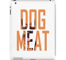 Dogmeat Text iPad Case/Skin