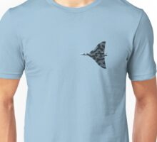 Vulcan bomber in flight Unisex T-Shirt