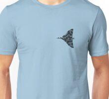 Vulcan bomber in flight Unisex T-Shirt