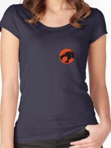 Thundercats RED & BLACK Little Women's Fitted Scoop T-Shirt