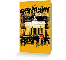 EURO BERLIN Greeting Card