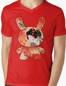 Geisha Dream Mens V-Neck T-Shirt