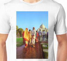Indian Tourist at Taj Mahal Unisex T-Shirt