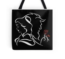 beauty and the beast broken rose Tote Bag