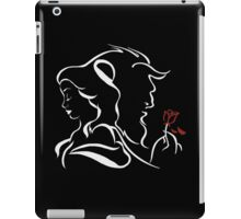 beauty and the beast broken rose iPad Case/Skin
