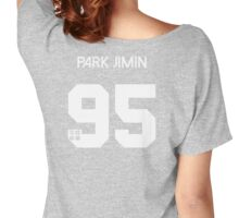 Park Jimin - Real Name BTS Member Jersey HYYH Women's Relaxed Fit T-Shirt