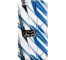 fox white stripes iPhone Case/Skin