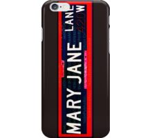 Mary Jane Lane iPhone Case/Skin