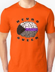 Neuroqueer Brain - Demi Colors T-Shirt